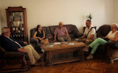 Nagyváradi fotóművészek látogatása a Partium Házban