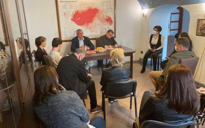Szakmai megbeszélést tartottak a Magyar Házak munkatársai Miskolcon